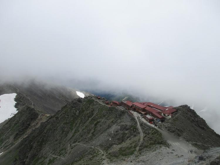 槍ヶ岳へ16150721