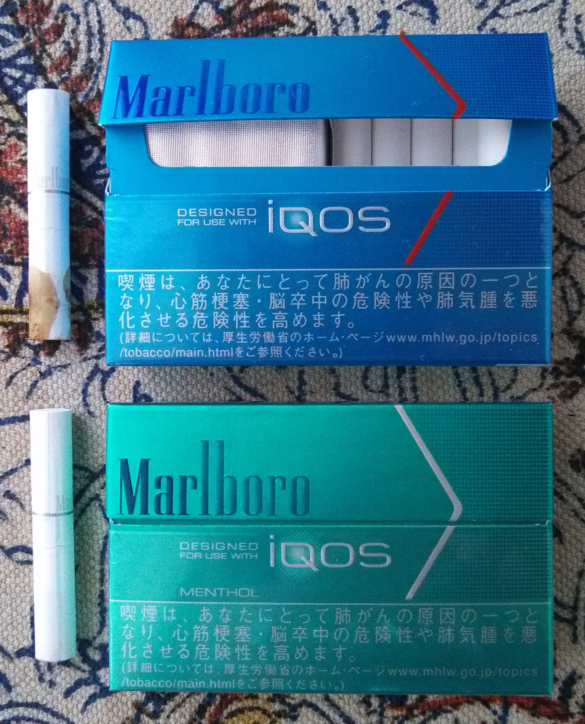 種類 マルボロ iqos
