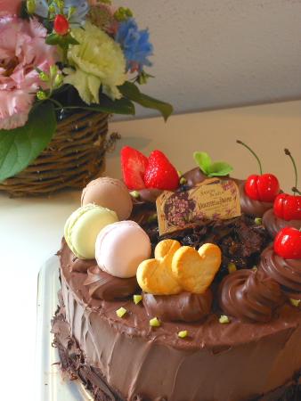 チョコレートケーキna