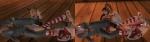 「聖なる夜のクリスマスコスチューム」サービスショット(マリー・ローズ&女天狗)