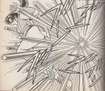 襲い来る錫杖攻撃に苦戦を強いられる舞