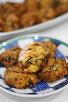 リメイクレシピ!! ひじきの煮物と豆腐の落とし揚げb