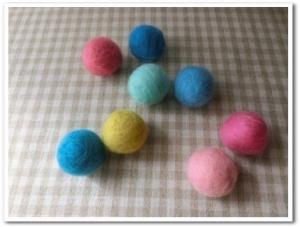 3月羊毛ボール