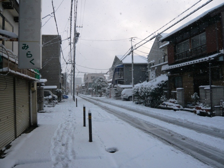 雪の茶庵4