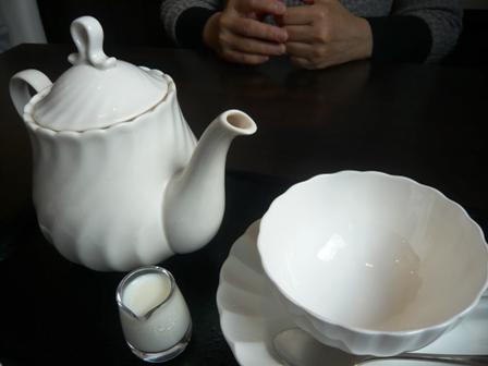 鞍馬:ホット紅茶