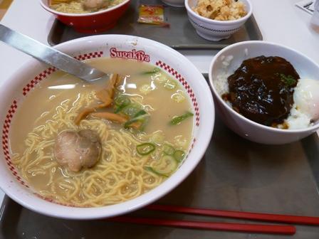 Sugakiya:デミハンバーグ丼