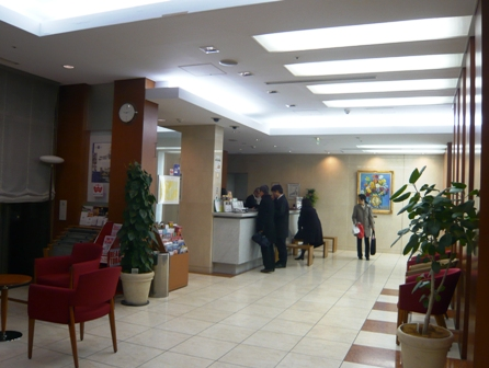 ホテルユニゾ:フロント