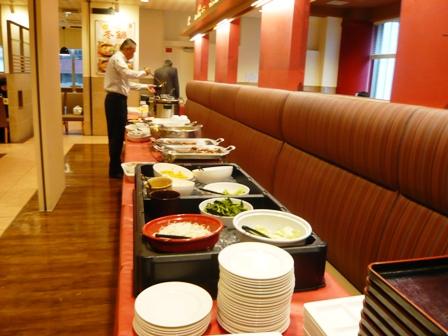 ホテルユニゾ:朝食バイキング;料理
