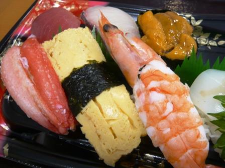寿司街道:穴子にぎり2