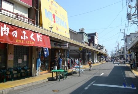 次郎長フェスティバル:次郎長通り商店街1