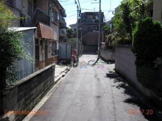 橋本町前面道路