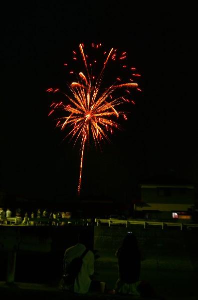 西条市 市民花火大会 2014年7月13日