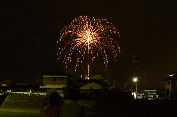愛媛県西条市 花火大会 壬生川港