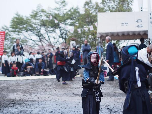 石鎚神社春祭り 行事 剣道大会