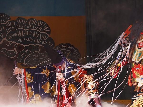 石鎚神社 神樂 土蜘蛛