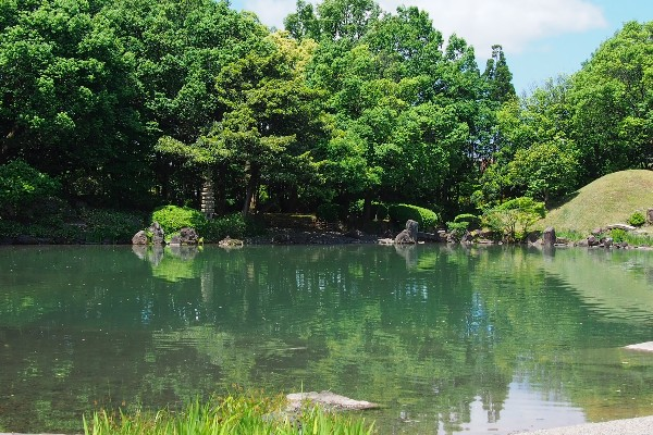 福井県福井市宝永 養浩館庭園 回遊式林泉庭園