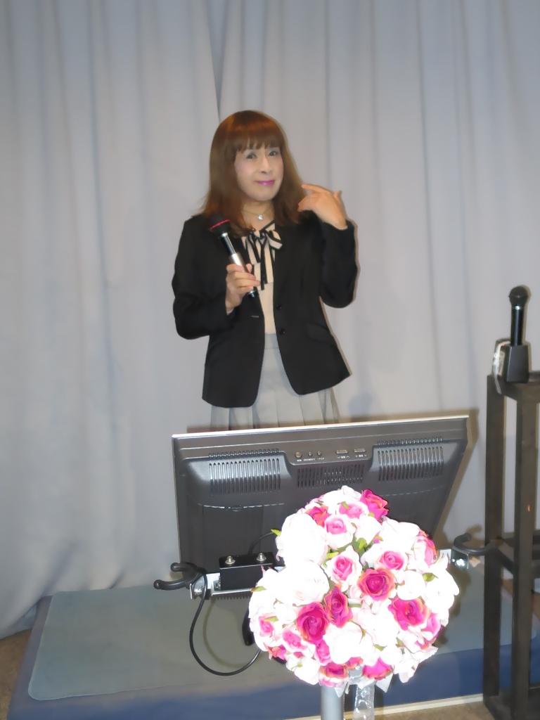 紺ジャケットカラオケ(3)