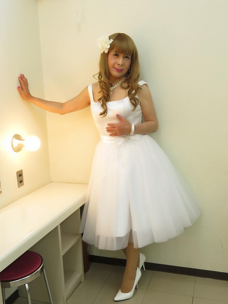 ホワイトショートドレス(5)