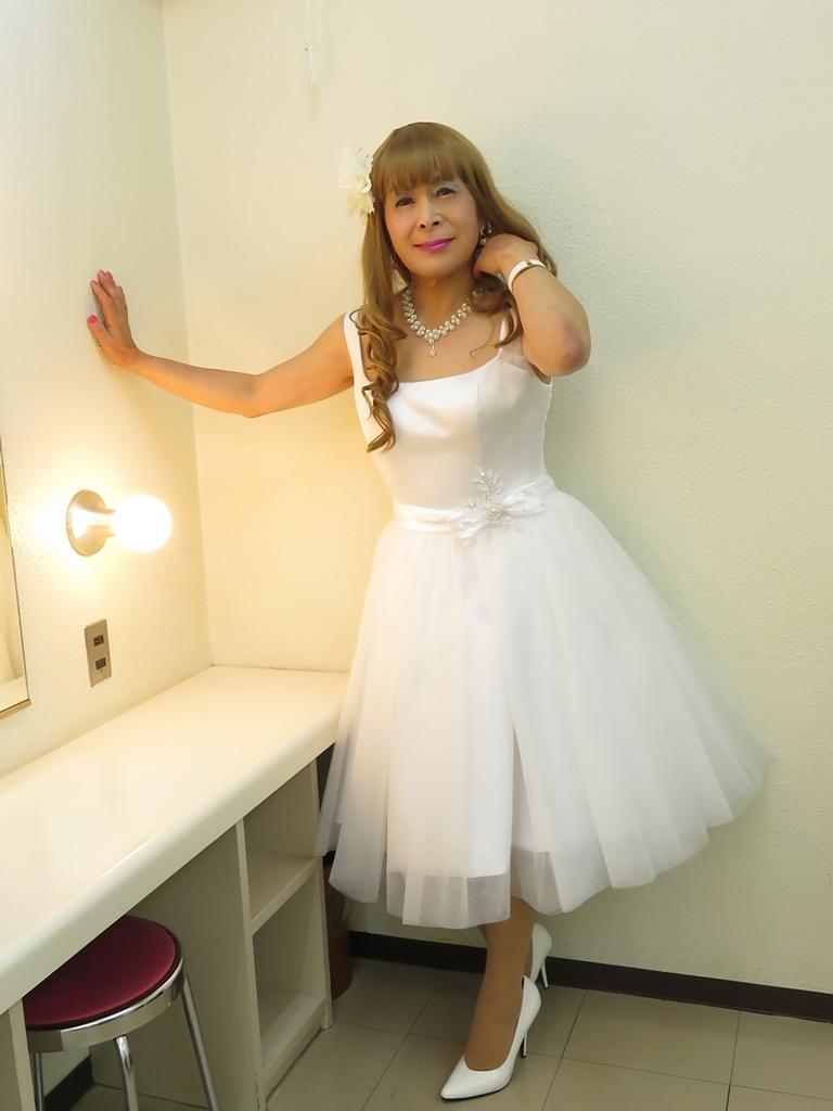 ホワイトショートドレス(6)