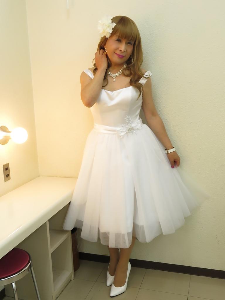 ホワイトショートドレス(7)