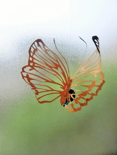 切り絵蝶々 立体2