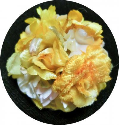 アートフラワー小花ブローチ1