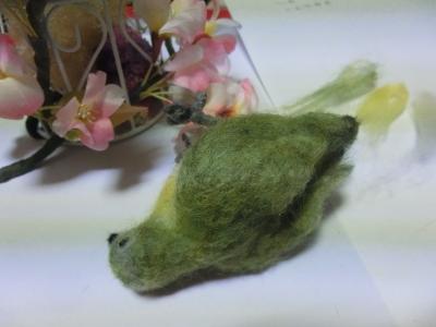 羊毛フェルト1