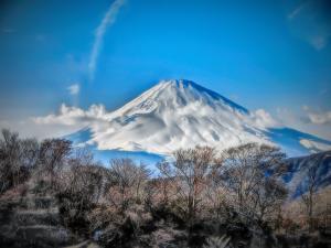 富士山アートモード撮影