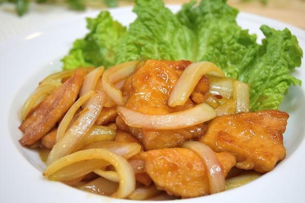 鶏胸肉の甘辛生姜焼き♪600