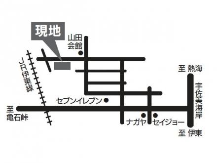 山田分譲地地図5