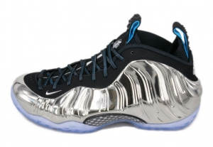 AIR FOAMPOSITE ONE AS QS シルバー ミラー