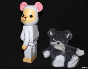 BE@RBRICK fragmentdesign REVERSE MODEL 400%