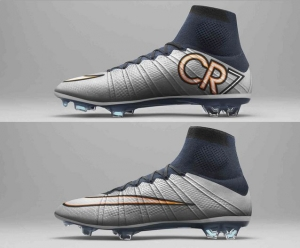 NIKE MERCURIAL SUPERFLY CR7 シルバーウェア