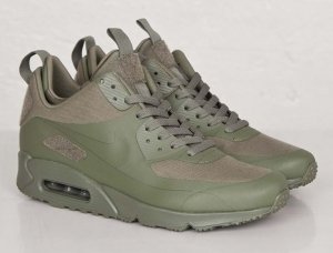 Nikelab Air Max 90 Sneakerboot SP Steel Green