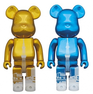 TOKYO SKY TREE TOWN 400% BE@RBRICK GOLD