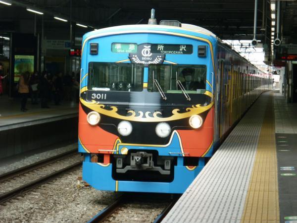 2014-02-28 西武3011F 準急所沢行き