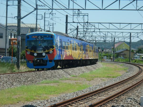 2014-08-06 西武3011F 急行池袋行き2 2136レ