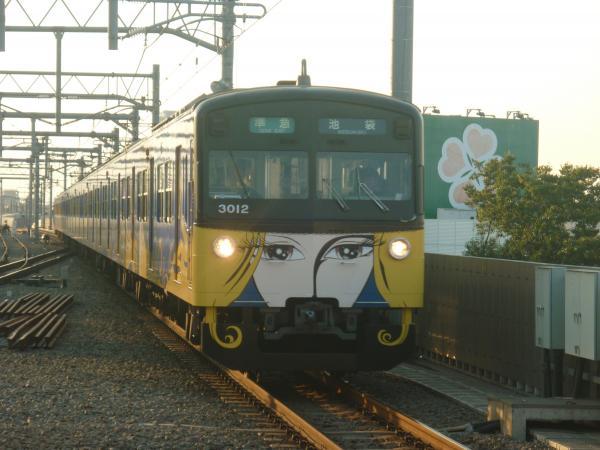 2014-10-18 西武3011F 準急池袋行き3 4314レ