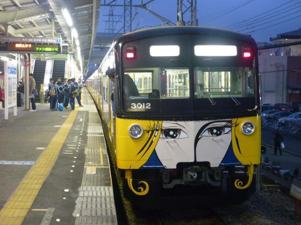 2014-11-08 西武3011F 回送2