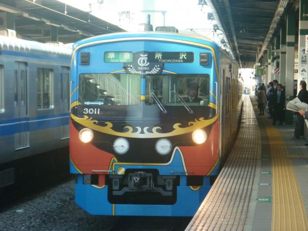 2014-11-14 西武3011F 準急所沢行き1 4307レ