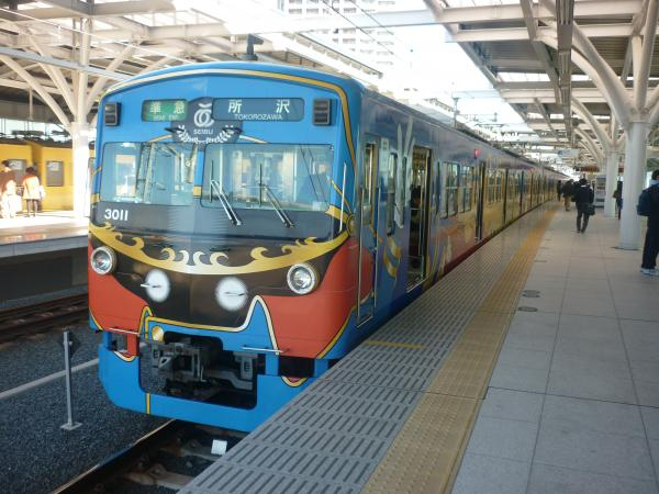 2014-11-14 西武3011F 準急所沢行き2 4307レ