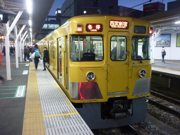 2014-12-26 西武2007F 各停西武新宿行き 5636レ