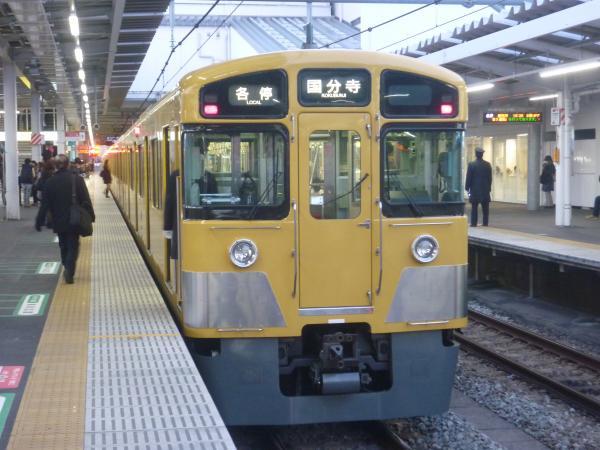 2014-12-26 西武2049F 各停国分寺行き 5714レ