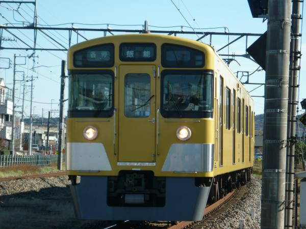 2014-12-26 西武2063F 各停飯能行き 5113レ