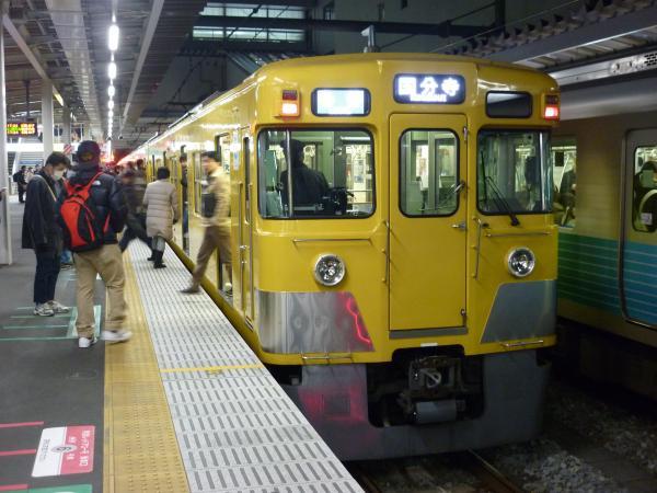 2014-12-26 西武2401F 各停国分寺行き 5776レ