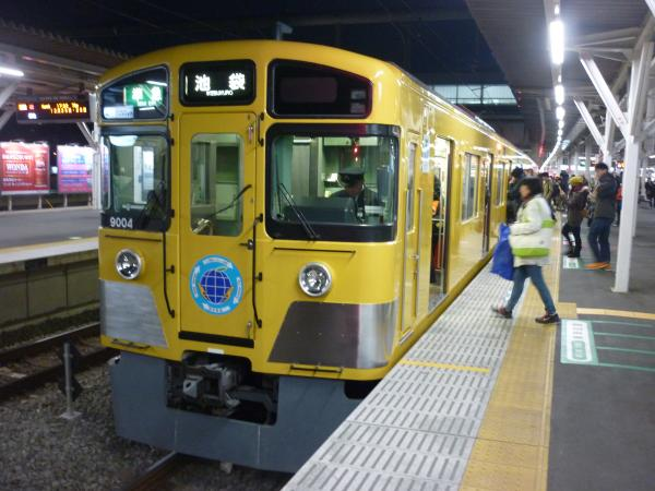 2014-12-26 西武9104F 準急池袋行き 4220レ