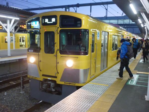 2014-12-26 西武9106F 快速池袋行き 3116レ