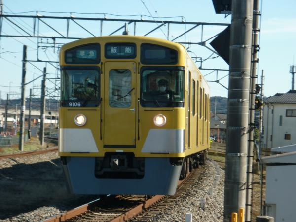2014-12-26 西武9106F 準急飯能行き 4127レ