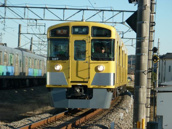 2014-12-26 西武9107F 急行飯能行き 2147レ