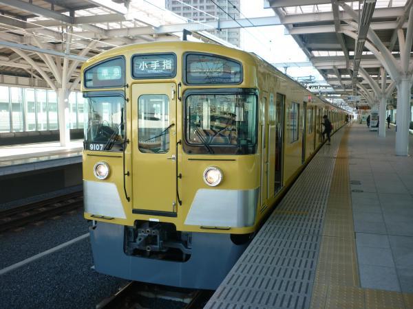 2014-12-26 西武9107F 準急小手指行き 4217レ